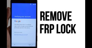 How To Remove FRP Lock